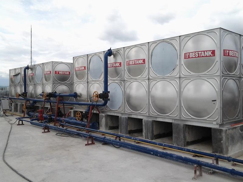 Storage Tank – Park Inn of Radisson at SM Lanang