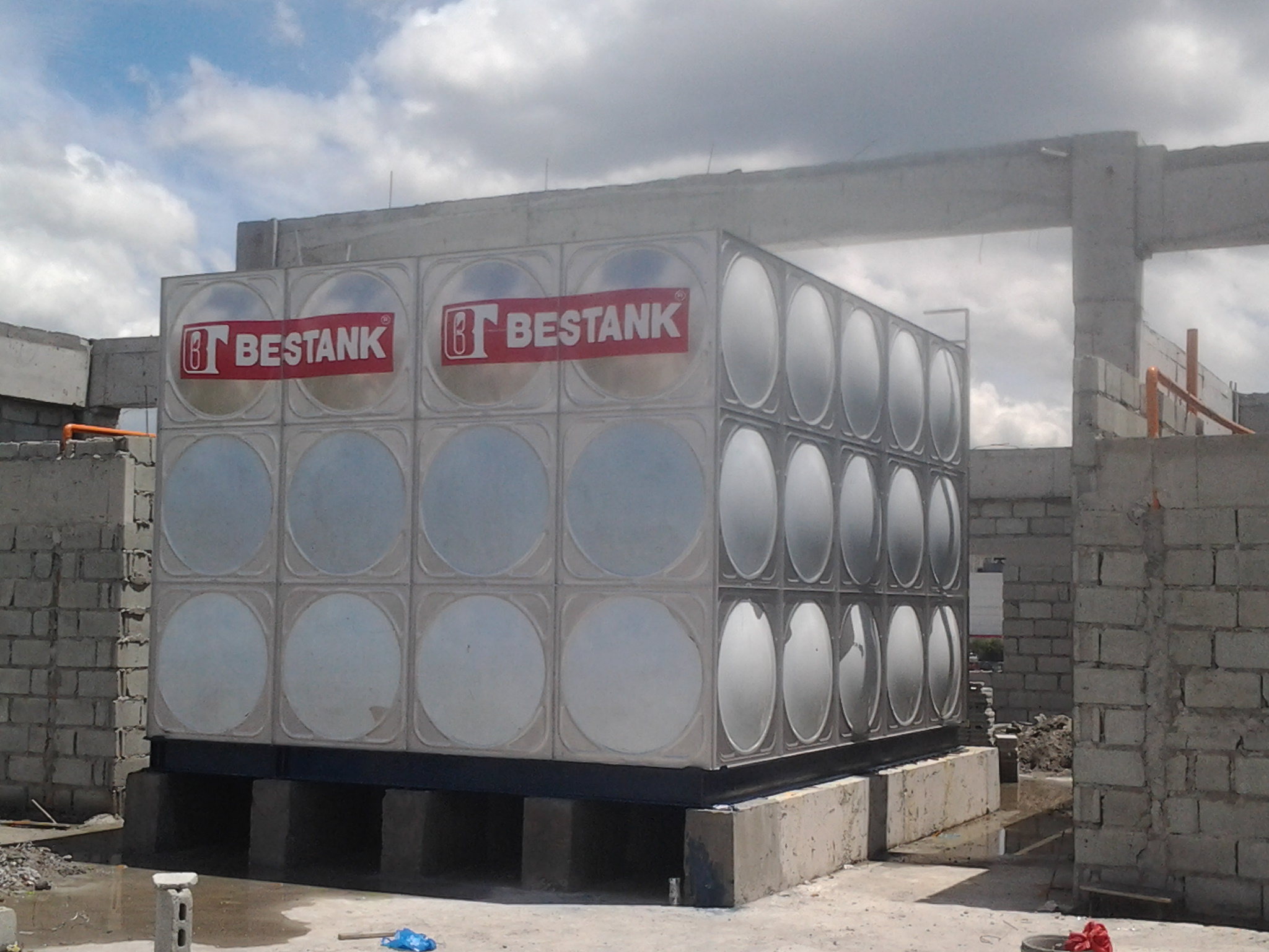 Storage Tank – Neopolitan Business Park