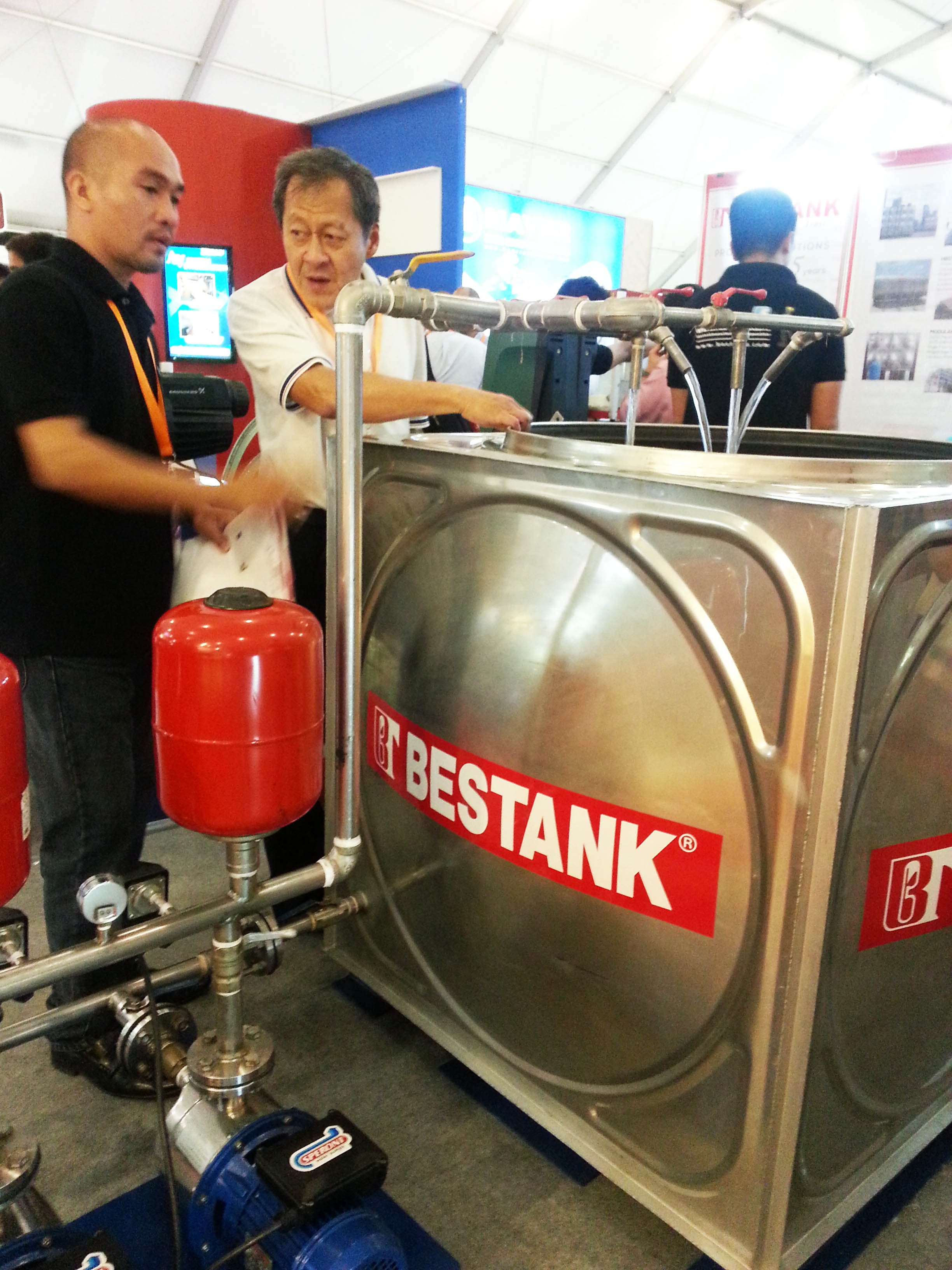 Bestank joins Worldbex 2015!