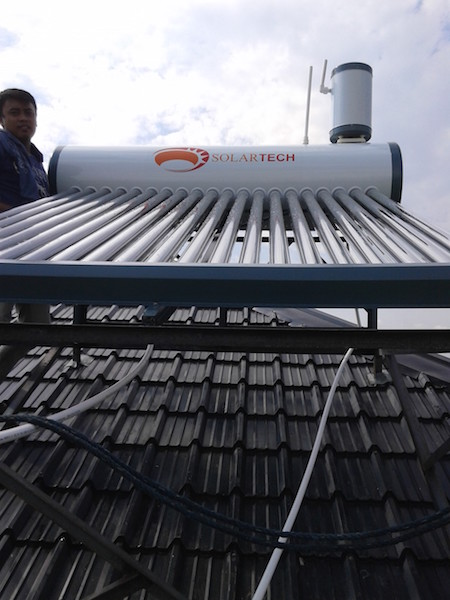 Solartech Solar Water Heater – Residence