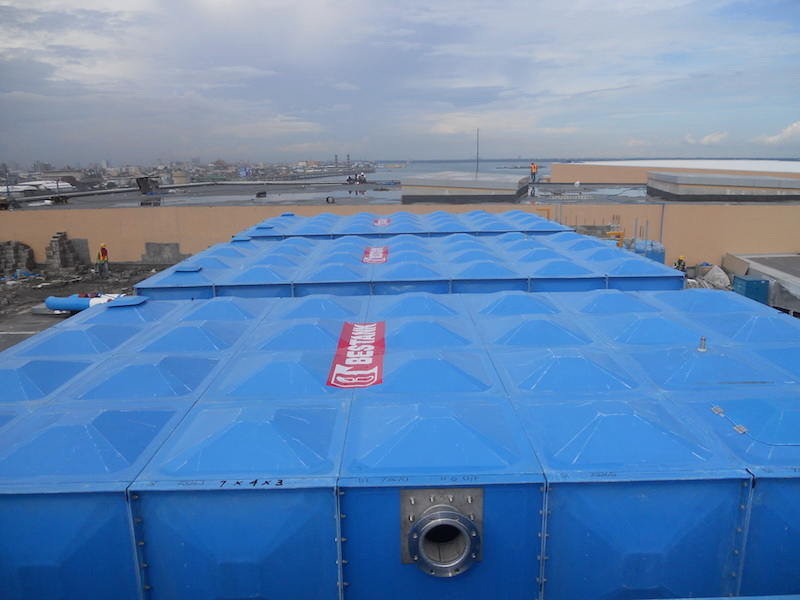 FRP Storage Tank – SM Seaside City Cebu