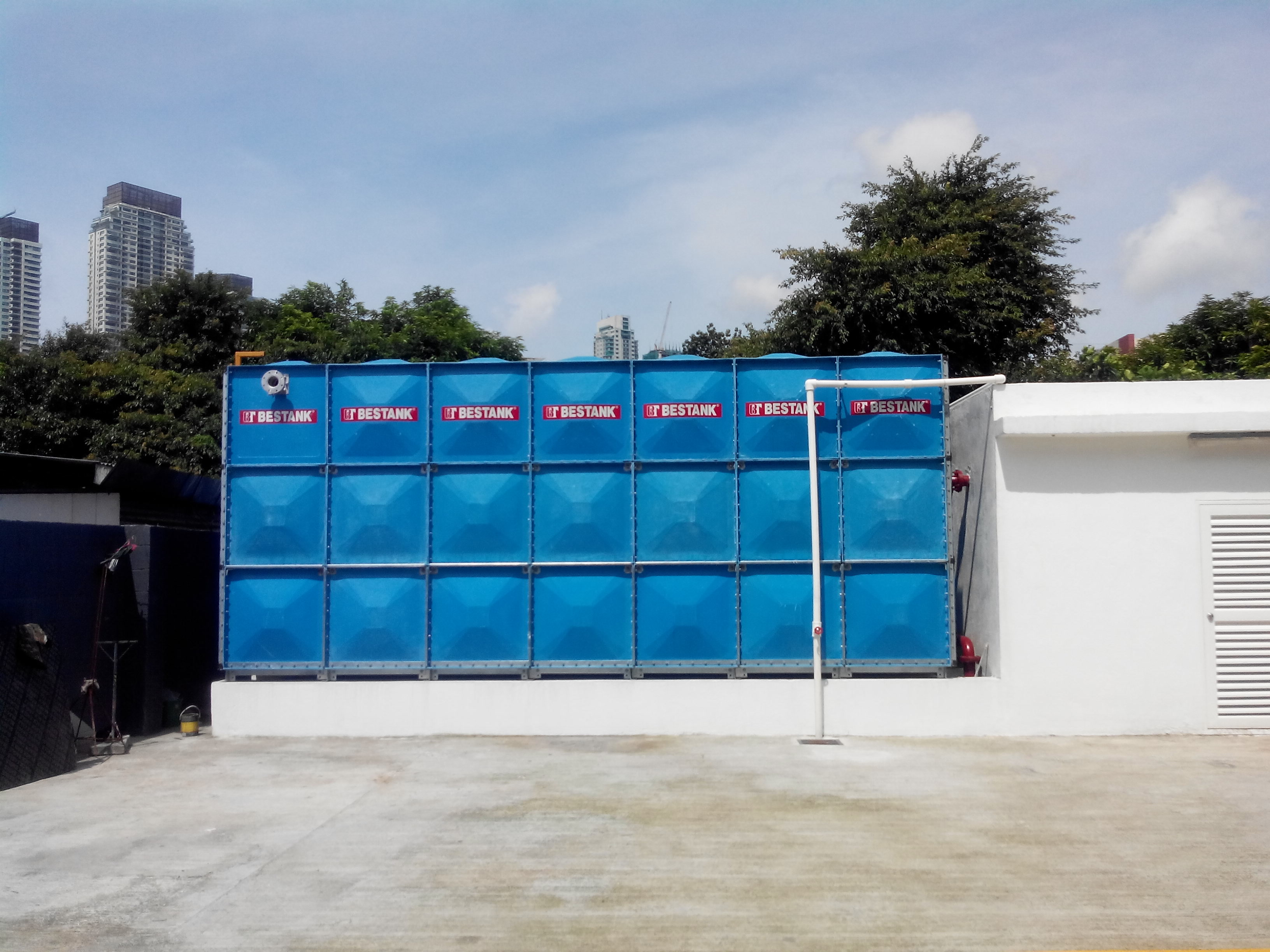 FRP Modular Tank – FMC Showroom