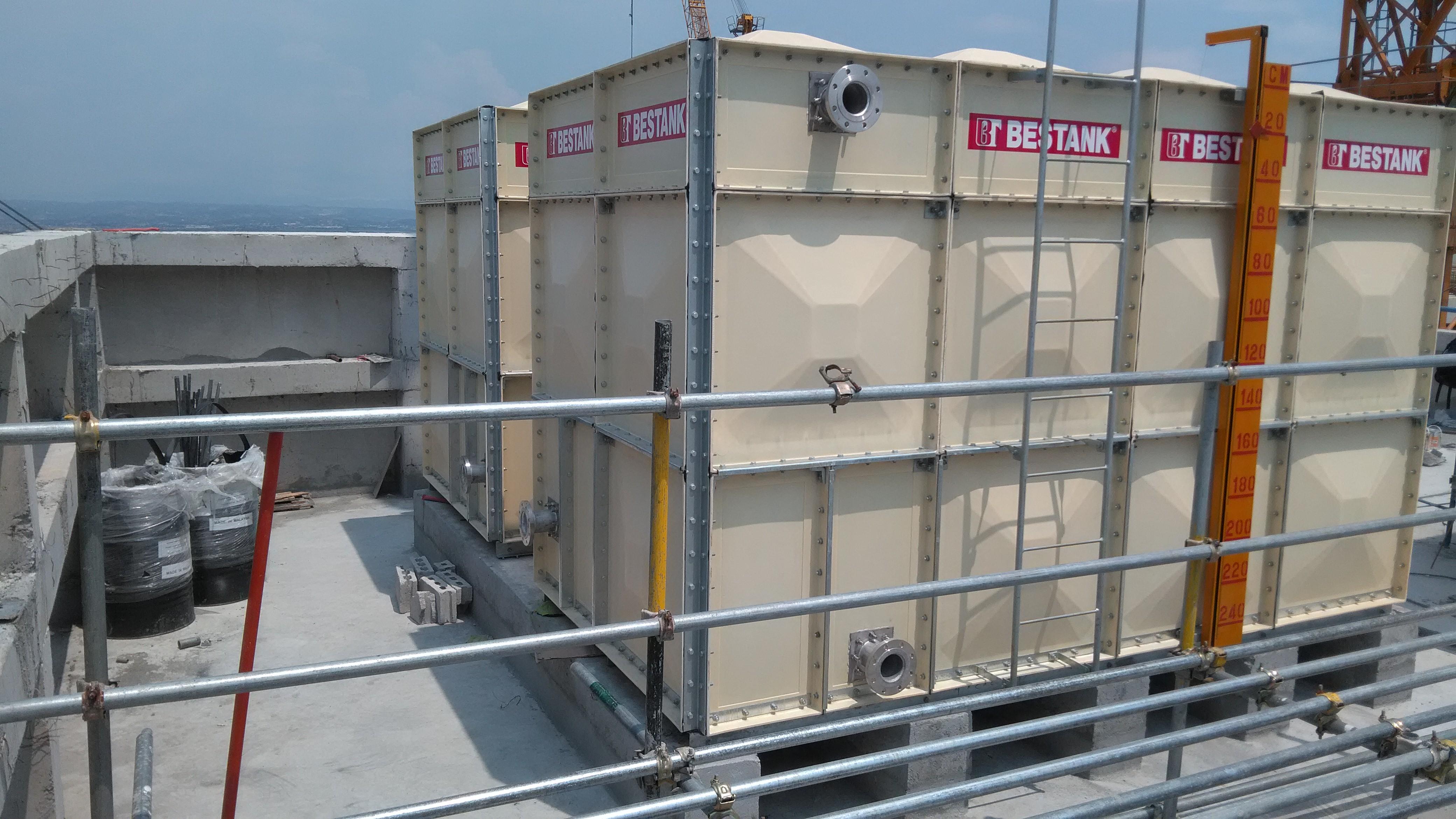 FRP Modular Tank – Avida Towers One Union Place