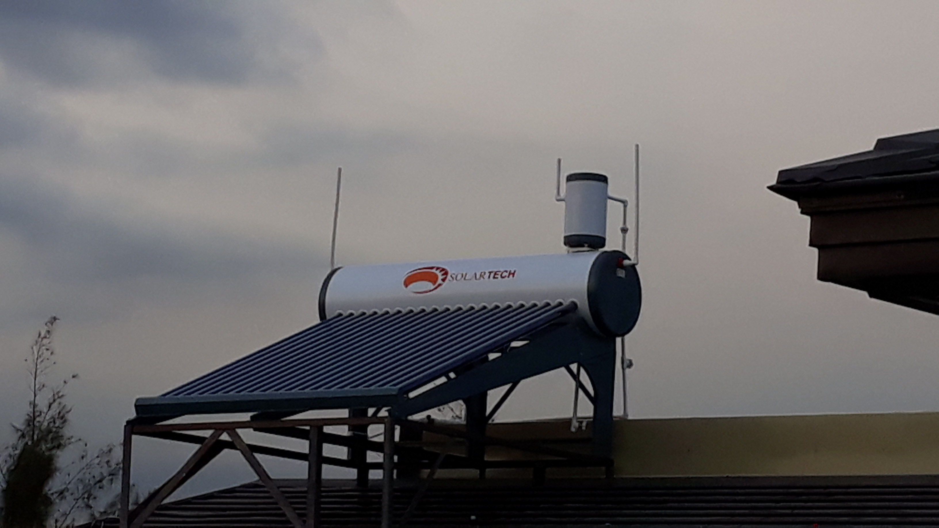 Solartech Solar Water Heater 200L Installation – Greenwoods Executive Village, Pasig City