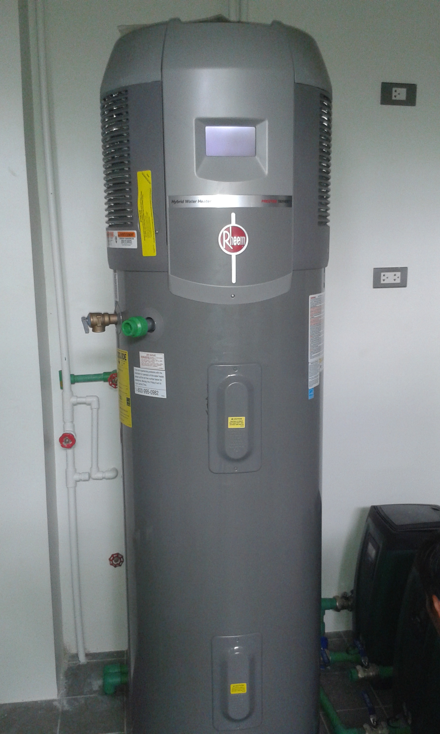 Rheem Hybrid Heat Pump and Dab E.sybox Compact Pressure System Installation – Angeles City, Pampanga