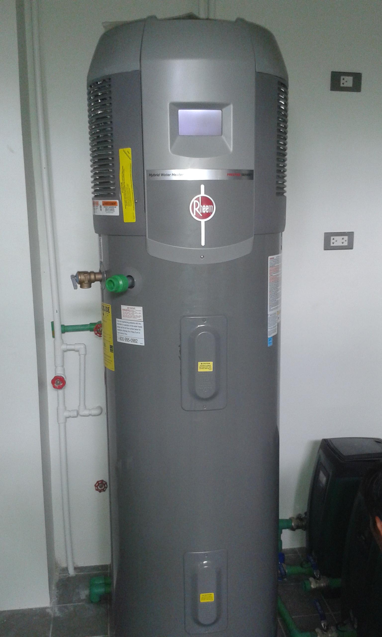 Rheem Hybrid Heat Pump and Dab E.sybox Compact Pressure System Installation – Angeles City, Pampanga