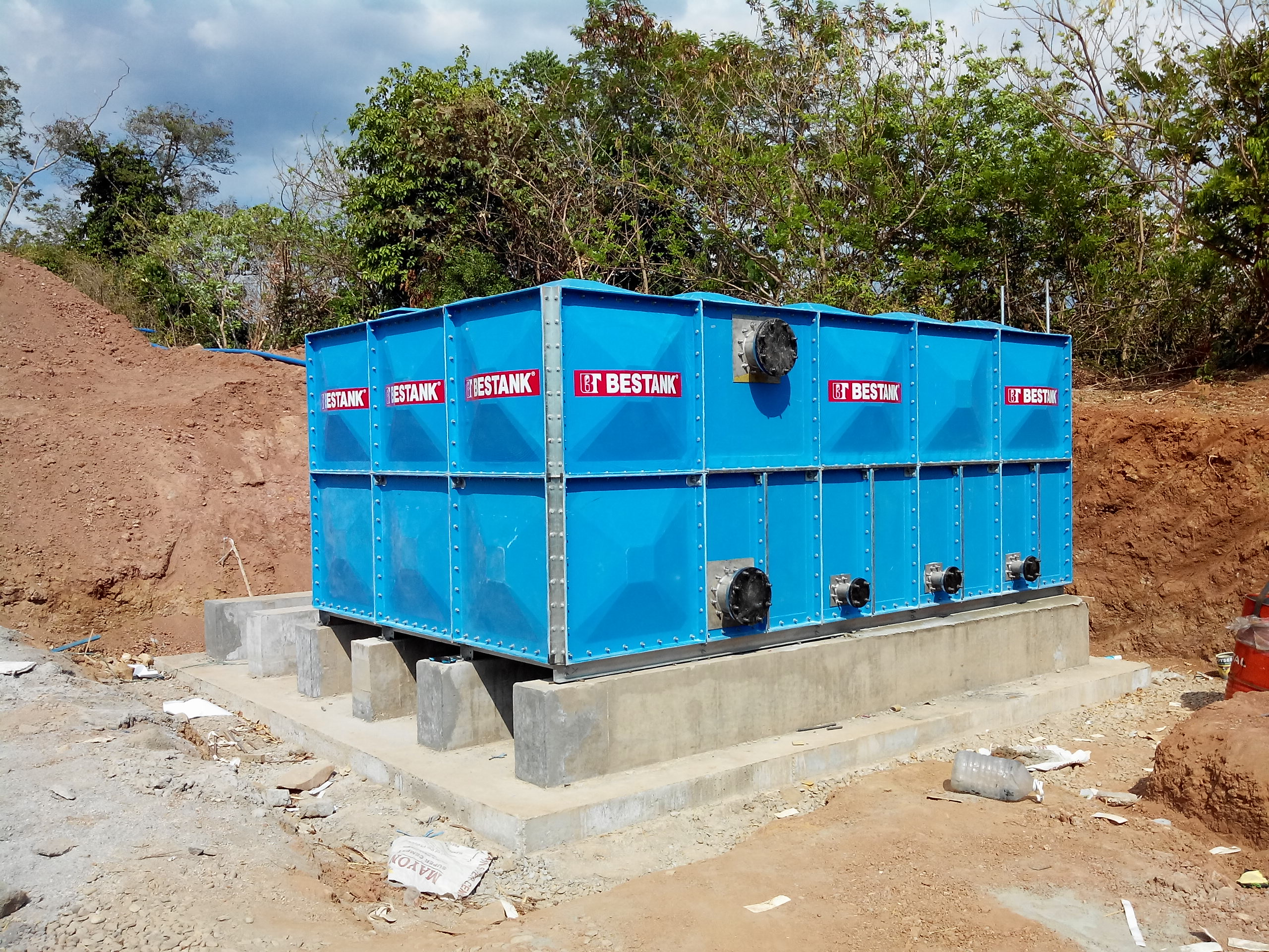 FRP Modular Tank – Camaya Coast