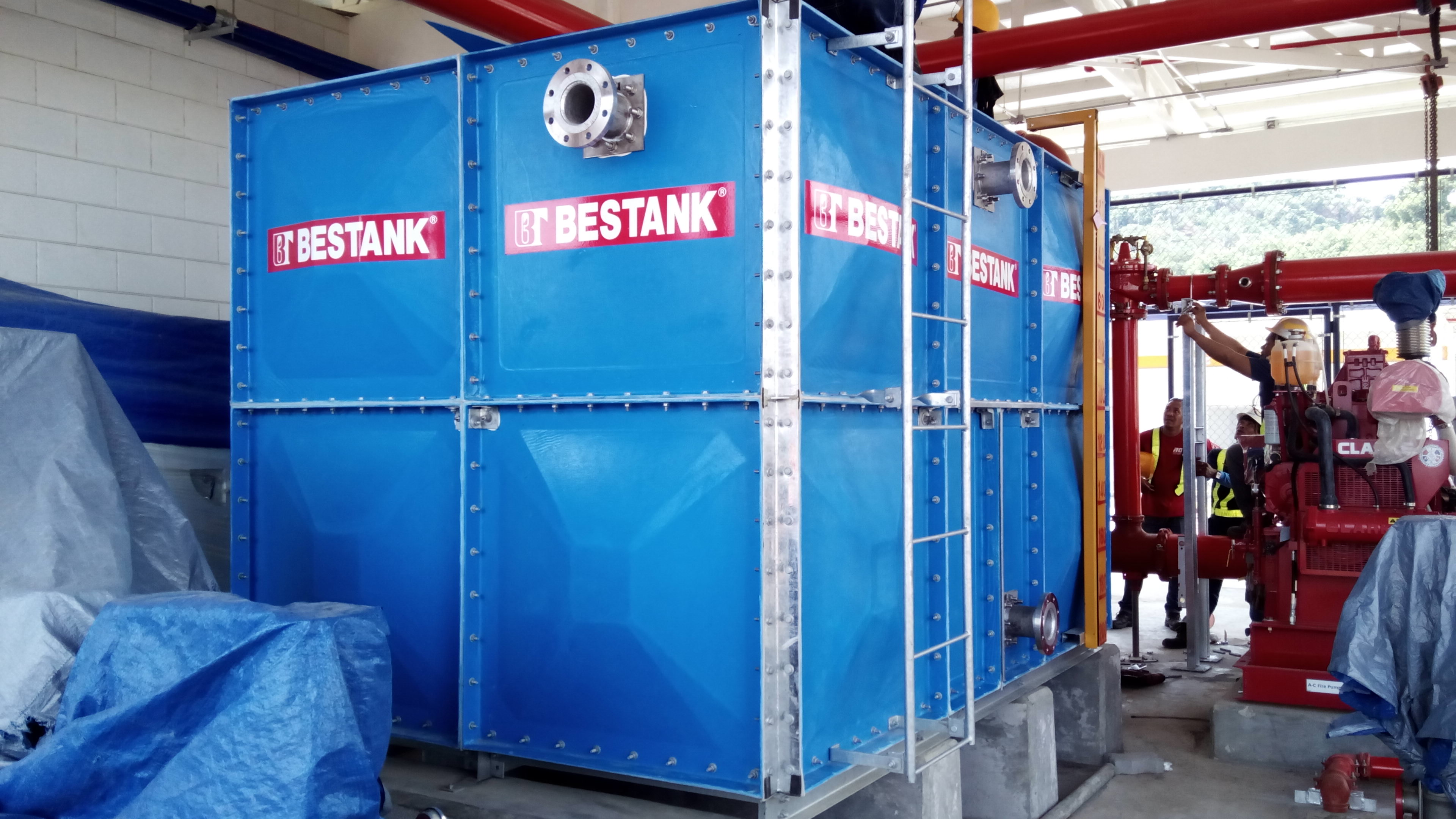FRP Modular Tank – Jotun Manufacturing Corporation