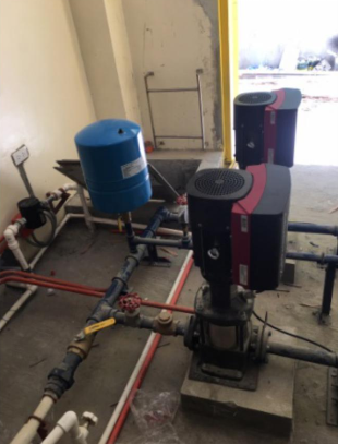 Installations of Grundfos CRE Pump, Grundfos SQ Submersible Pump, Grundfos Pressure Manager 2 and Global Water Pressure Wave – Nueva Ecija Medical Center, San Leonrado Nueva Ecija