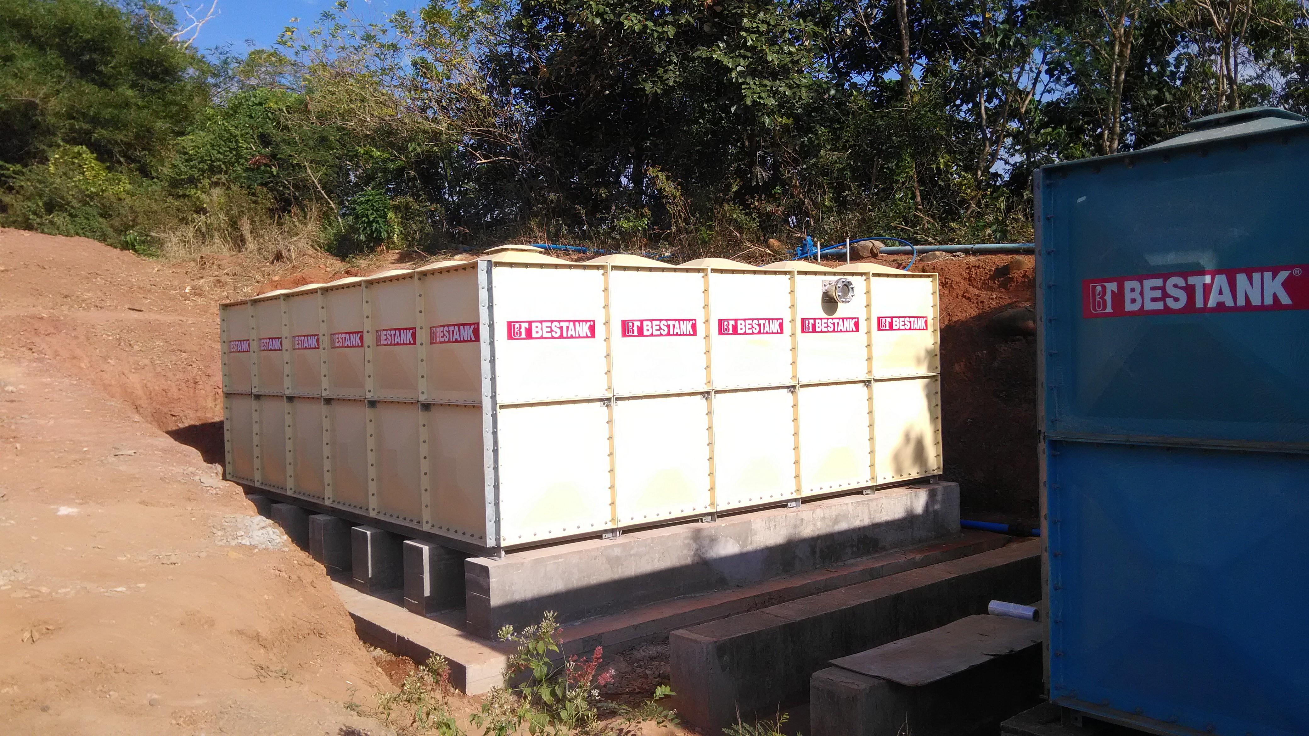 FRP Modular Tank – CAMAYA COAST  GOLF RESIDENCE